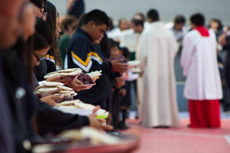 El pan y el vino: Cuerpo y Sangre de Cristo